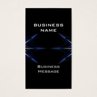 Hi Tech Futuristic Business Card Template