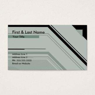hi-tech professional business card
