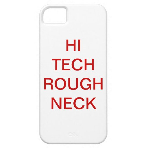 HI TECH ROUGH NECK iPhone 5 COVER