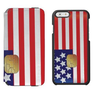Hi-Tech Smart Card Digital American Patriot Incipio Watson™ iPhone 6 Wallet Case
