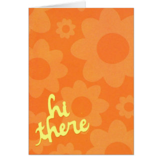 Hi There Note Card