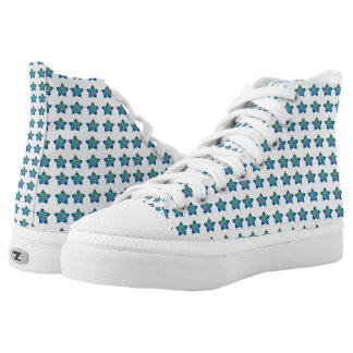 Hi Top Shoes canvas tops, rubber sole, sneakers!