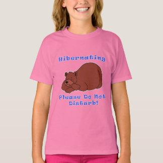 Hibernating Please Do Not Disturb T-Shirt