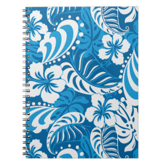 Hibiscus abstract floral notebook