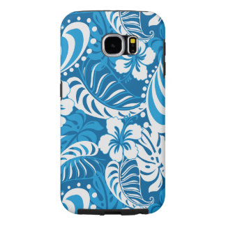 Hibiscus abstract floral samsung galaxy s6 cases
