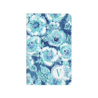 HIBISCUS BOUNTY Blue Tropical Hawaiian Floral Journal