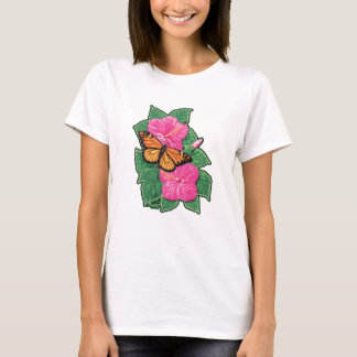 Hibiscus & Butterfly T-Shirt