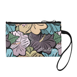 Hibiscus Coin Purse