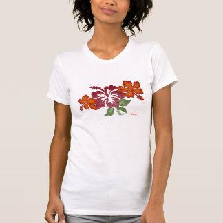 Hibiscus, Copyright Karen j. Williams, KJW T-Shirt