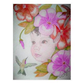 Hibiscus Fairy (2) Postcard