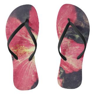 Hibiscus Flip-Flops Thongs