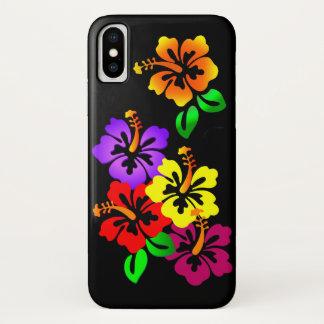 Hibiscus Floral iPhone X Case