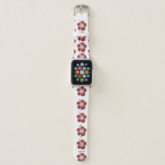 Hibiscus Flower Apple Watch Band
