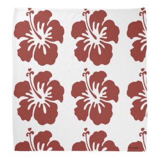 Hibiscus Flower Bandana