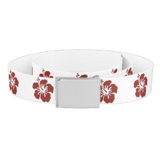 Hibiscus Flower Belt