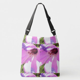 Hibiscus Flower Crossbody Bag