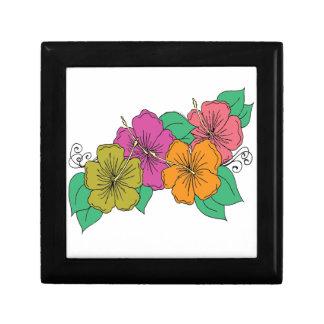 Hibiscus Flower Gift Box