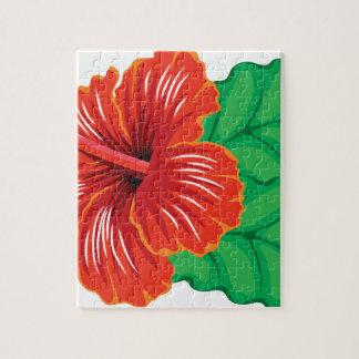Hibiscus Flower Jigsaw Puzzle