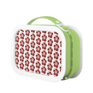 Hibiscus Flower Pattern Kids Lunchbox