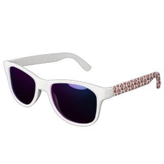 Hibiscus Flower Pattern Sunglasses