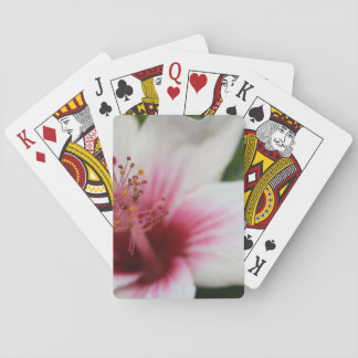 Hibiscus Flower Poker Deck