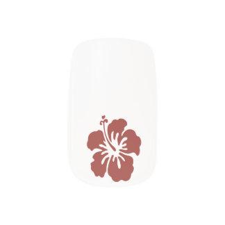Hibiscus Flower Tropical Nail Art