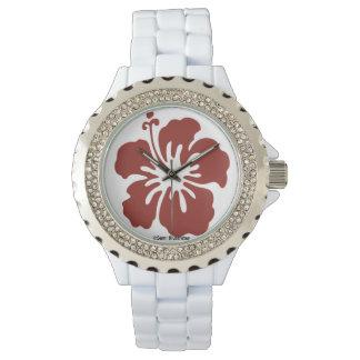 Hibiscus Flower Women's Watch
