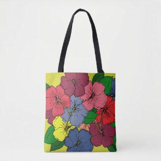 Hibiscus Flowers #8 Tote Bag