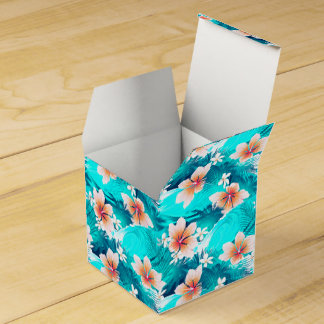 Hibiscus flowers at the beach favour box