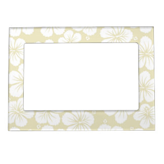 Hibiscus Flowers Magnetic Frame