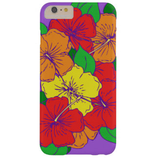 Hibiscus Flowers ROY Barely There iPhone 6 Plus Case