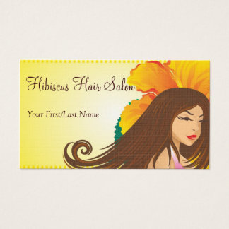 hibiscus gal ~ bc business card
