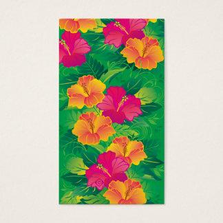 hibiscus garden business card
