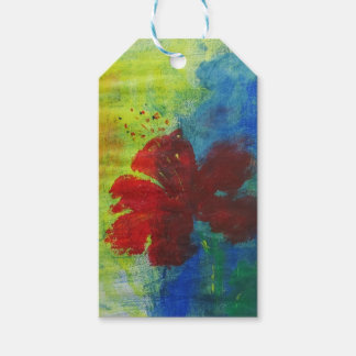 hibiscus gift tags