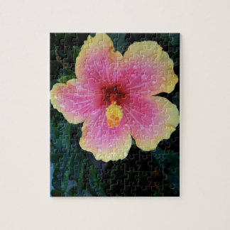 Hibiscus Hawaiian Flower Jigsaw Puzzle