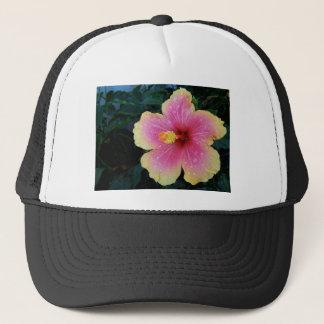 Hibiscus Hawaiian Flower Trucker Hat