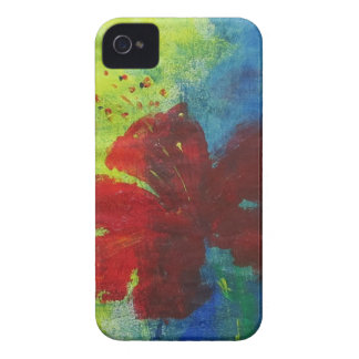 hibiscus iPhone 4 cover