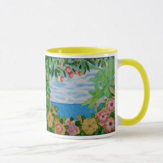Hibiscus Island Mug