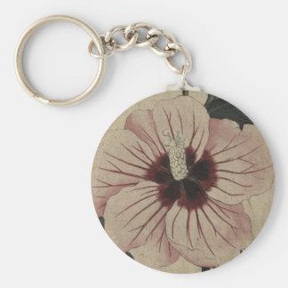 Hibiscus Key Ring