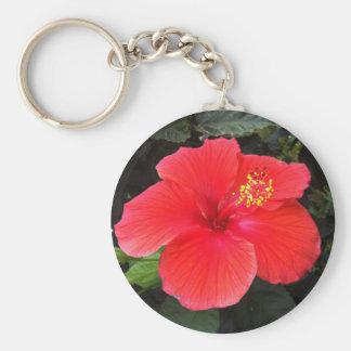 Hibiscus Keyring