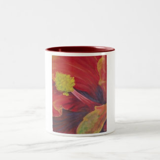 Hibiscus Macro mug