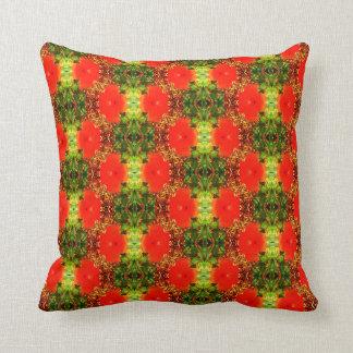Hibiscus Maze Cushion