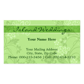 hibiscus motif.grn ~ bc business cards