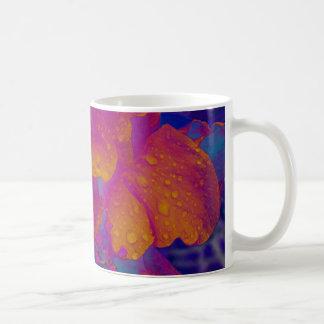 Hibiscus Basic White Mug