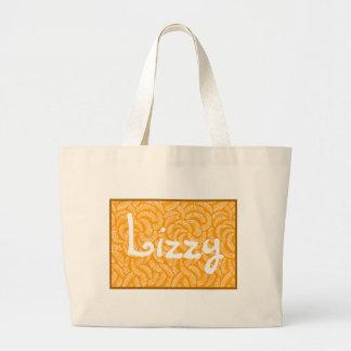 Hibiscus Orange Japanese Tropical Fans Bags