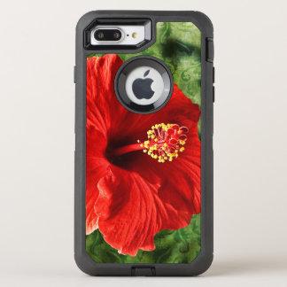 Hibiscus OtterBox Defender iPhone 8 Plus/7 Plus Case