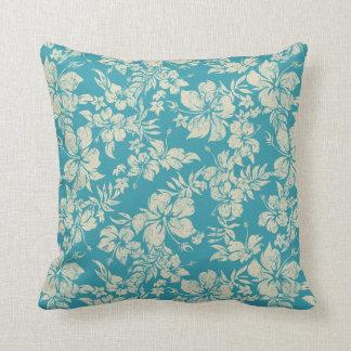 Hibiscus Pareau Hawaiian Decorative Pillows Throw Cushions