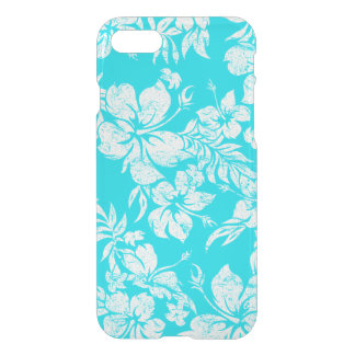 Hibiscus Pareau Hawaiian Floral Aloha Shirt iPhone 8/7 Case