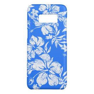 Hibiscus Pareau Hawaiian Floral Royal Aloha Print Case-Mate Samsung Galaxy S8 Case