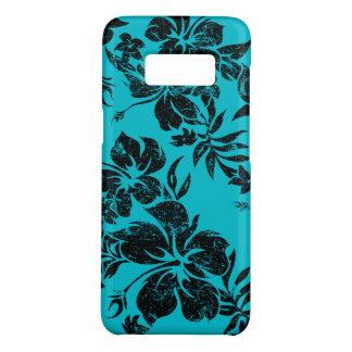 Hibiscus Pareau Hawaiian Floral Turq Aloha Print Case-Mate Samsung Galaxy S8 Case